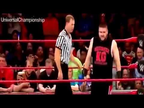 WWE RAW FATAL 4 WAY ELIMINATION MATCH ROMAN REIGN Vs KEVIN OWEN Vs SETH ROLLING Vs BIG CASS