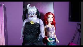 Disney Designer Ariel and Ursula : The Little Mermaid : Limited Edition Doll Set