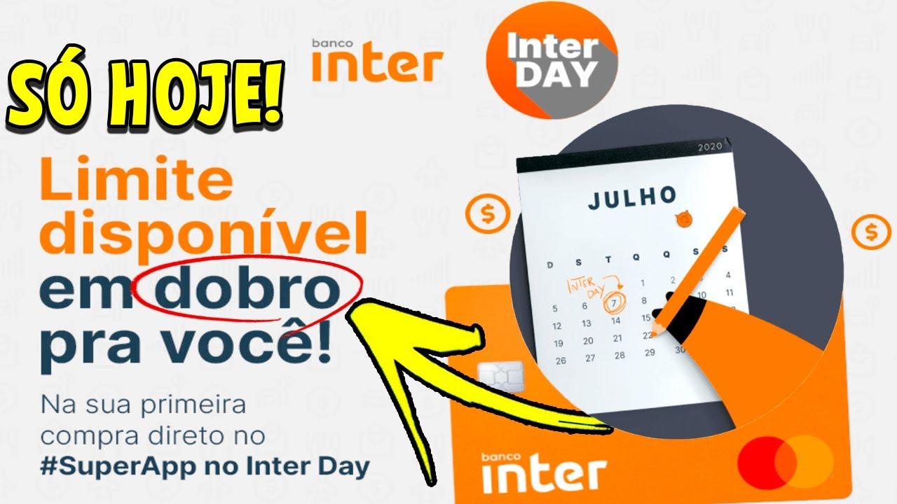 INACREDITÁVEL! BANCO INTER LIBERA LIMITE EM DOBRO + CASHBACK💳💰
