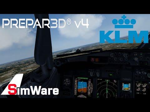 P3D V4.4 HD   BEAUTIFUL Circle to land approach at Valencia   737NGX