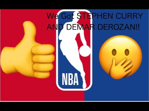 Crazy Pack Opening!! NBA Hoops, WE GOT STEPHEN CURRY AND DEMAR DEROZAN!!