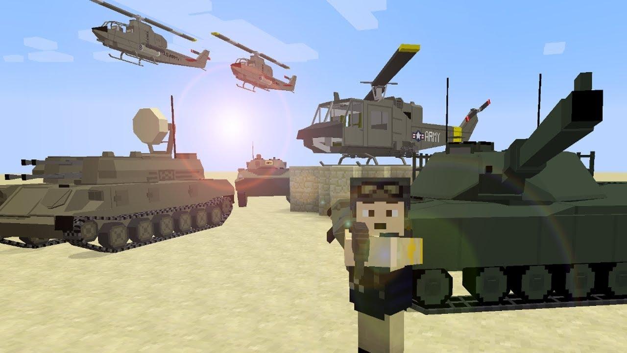 мод на майнкрафт 1.7.10 танки #5