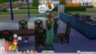 Hans & Hans?? The Sims 4-  Frozen ep1