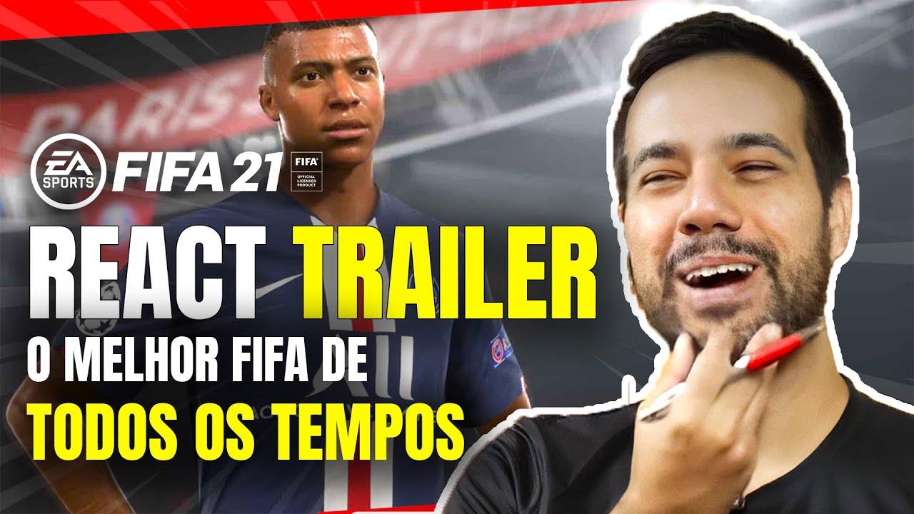 React FIFA 21 Trailer - O FIFA MAIS CARO DE TODOS OS TEMPOS! QUE COMECE A ZOEIRA!