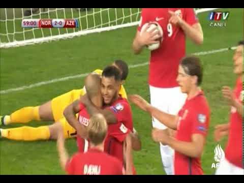 DÇ-2018: Norveç - Azərbaycan 2:0