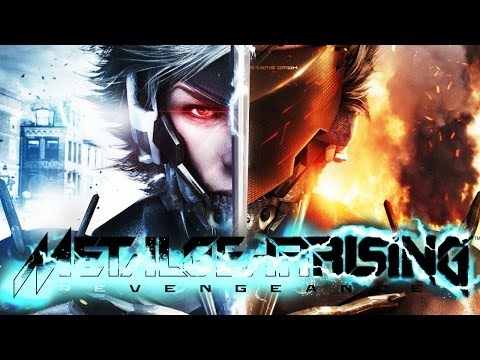 Metal Gear Rising: Revengeance All Cutscenes (Game Movie) 1080p