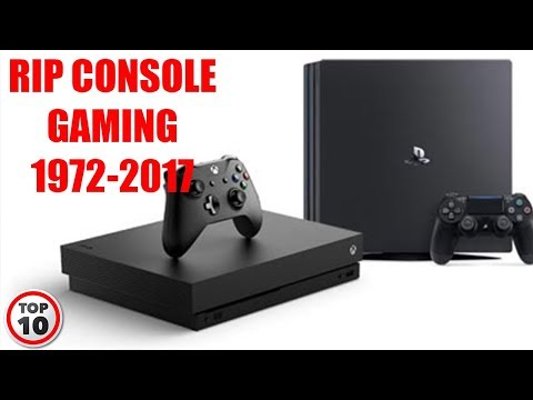 Top 10 Reasons Why Console Gaming Is Dying - PC VS Console