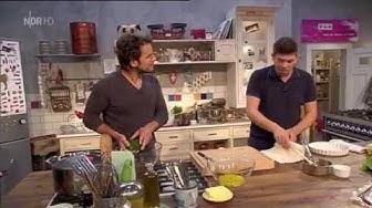 Tim Maelzer kocht:Zu Gast Steffen Henssler - gebratene Calamiretti & Rote Beete Salat