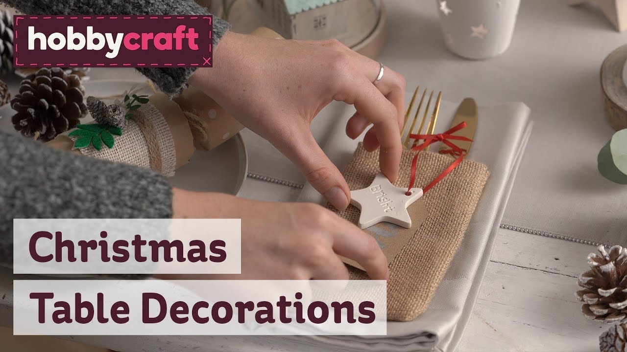 Christmas Table Decorations Christmas Centrepieces Hobbycraft