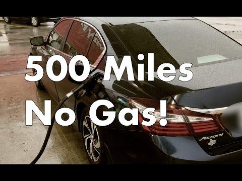 2016 Honda Accord Gas Mileage