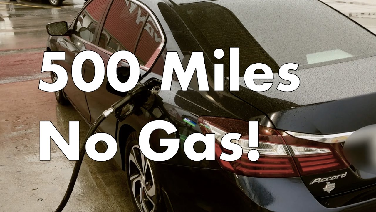 2016 Honda Accord Gas Mileage