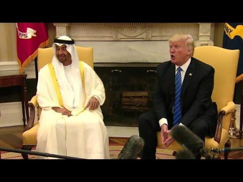 Trump welcomes Abu Dhabi's crown prince