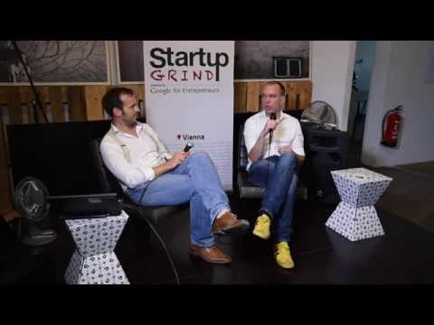 Frank Westermann (MySugr) at Startup Grind Vienna