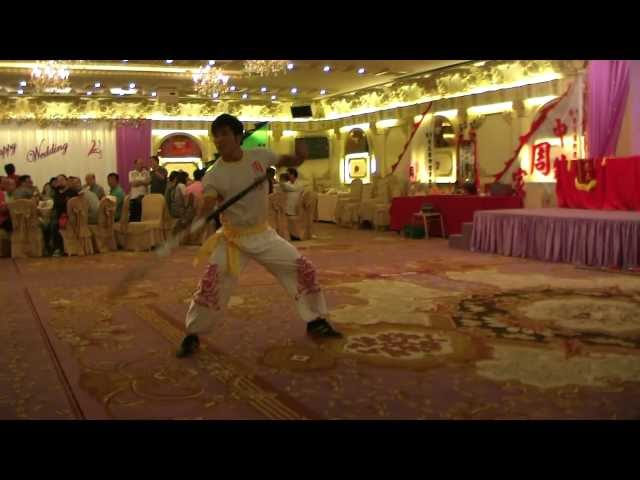 Human Mobile Stage 61D, 2011 Chau Lung Banquet, Lion Dance, Kung Fu Travel Video