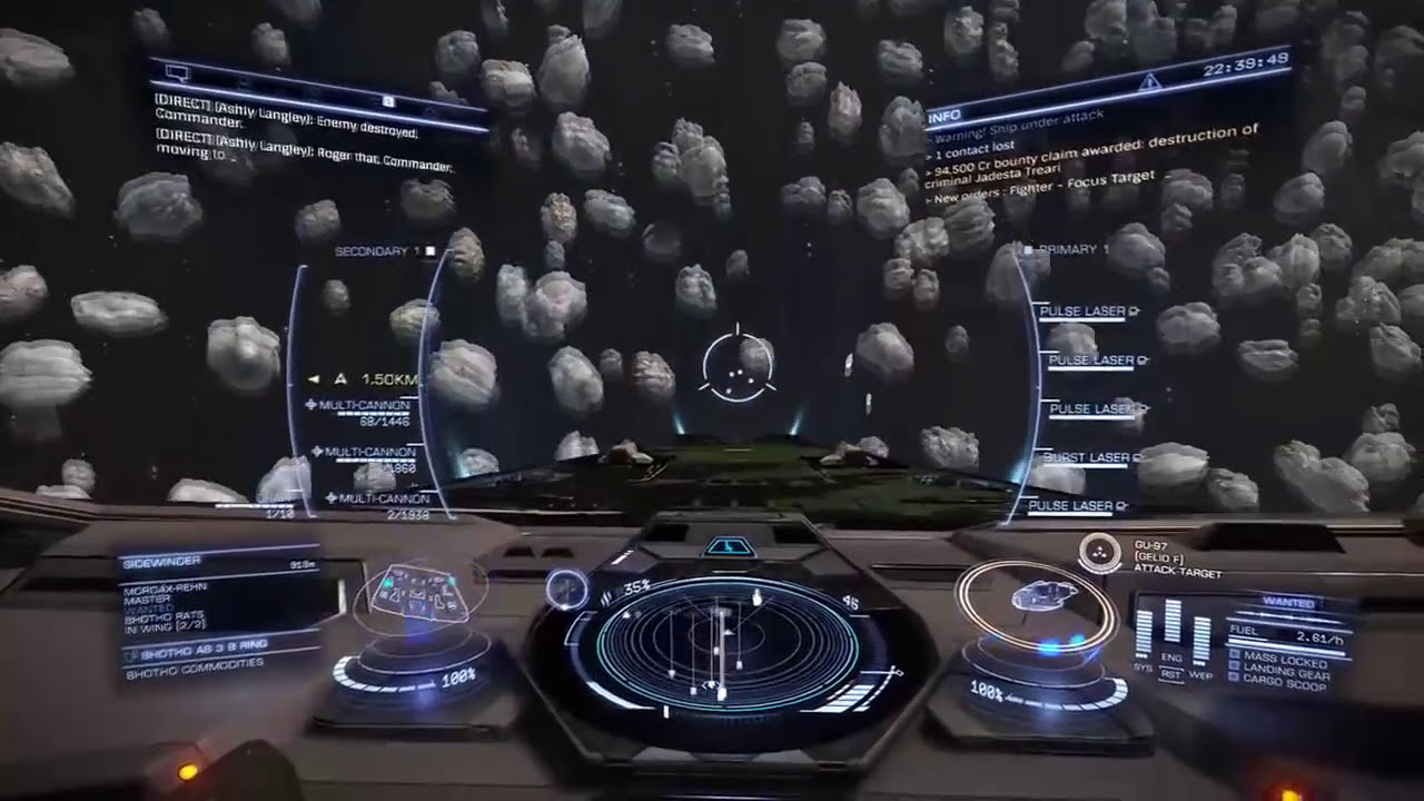 Elite Dangerous - Budget Anaconda Build  Steep 21:31 HD