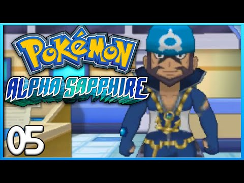 Pokemon Alpha Sapphire Part 5 - Steven & Archie ORAS Gameplay Walkthrough
