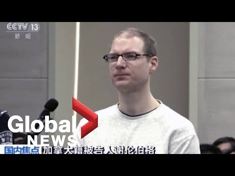 China state media broadcasts Canadian being sentenced to death for drug smuggling