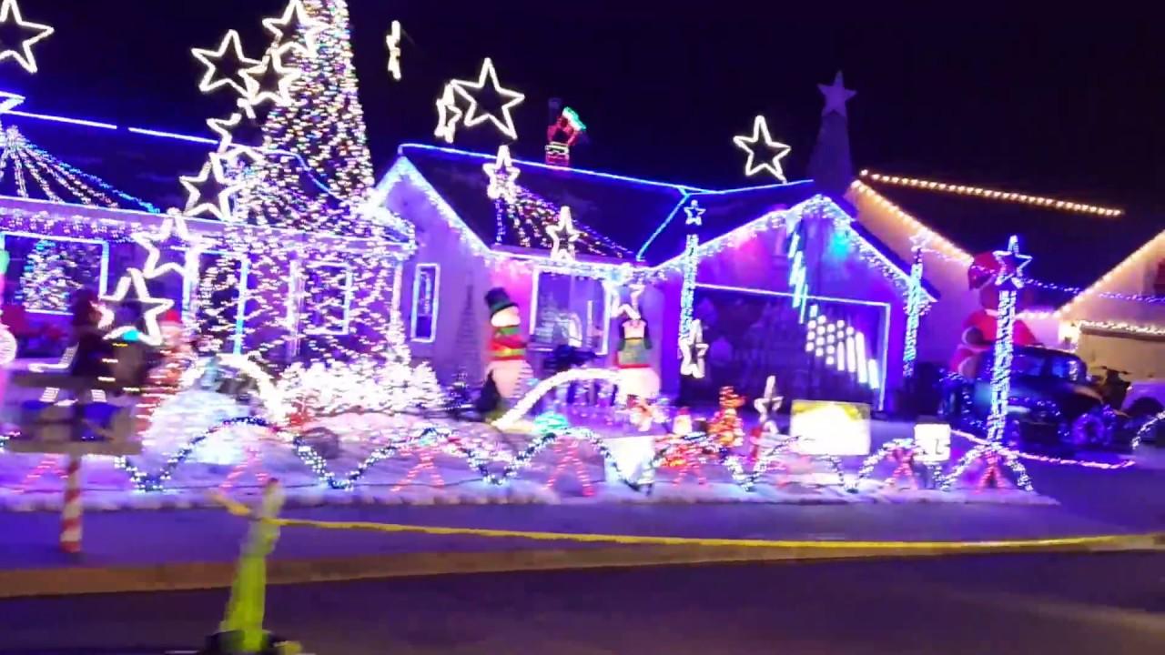 neighbors battle christmas decorations california usa