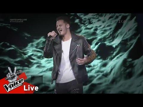 Νέαρχος Ευαγγέλου – River | 1ος ημιτελικός | The Voice of Greece