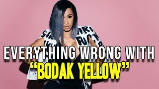 "Everything Wrong With Cardi B - ""Bodak Yellow"""