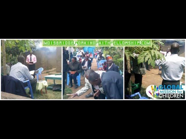 Bro Haron Preaching Under Trees in Rift Valley Kenya