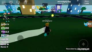 Running at the speed of light-Roblox
