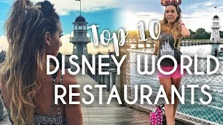 Top 10 Restaurants - Top 10 Disney World Restaurants - Best Table Service Places