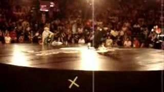 RedBull BC One 2006 - Lilou vs Muxibinha