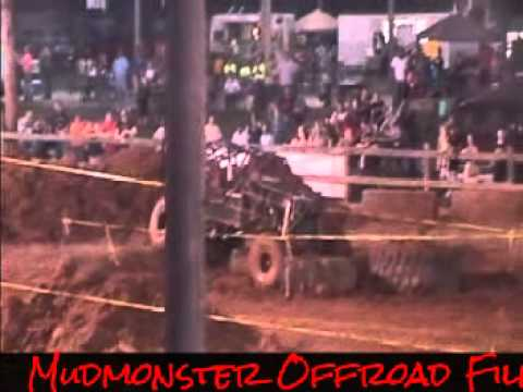 Wayne County Fair Mud Bog and Tough Truck 8-15-15