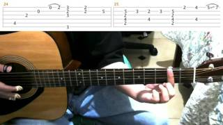 Rainy Day | Sungha Jung | Guitar Lesson Tutorial & Tabs - Part 2
