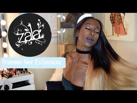 Zala Hair Extensions 220grams 1b/ 12