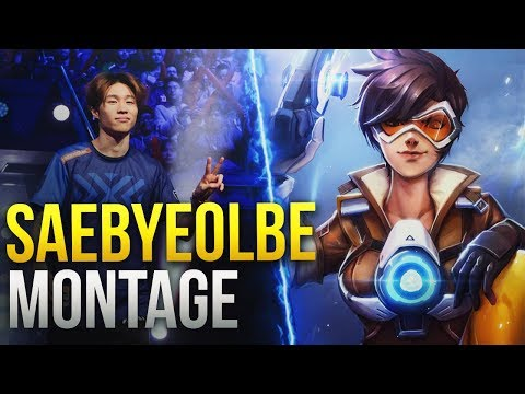 Best of Saebyeolbe - The World's Best Tracer  - Overwatch Montage