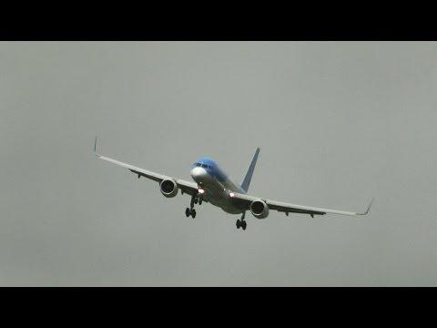 Tense Crosswinds Landings & Wind Shear at Birmingham Airport -777 757 737 A320 F70 ATR72 A319