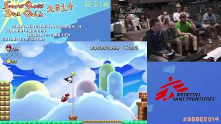 Summer Games Done Quick 2014 - Part 114 - New Super Mario Bros U