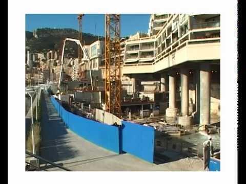 Nouveau Yacht Club de Monaco - La galerie technique