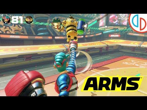Arms - yuzu Emulator (Canary 2607) [1080p] - Nintendo Switch - 동영상