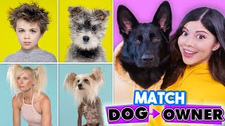 Match the Dog to the Owner (Reaction)