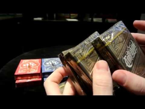 Contraband \u0026 Tycoon Playing Cards : Unboxing \u0026 Initial Reviews