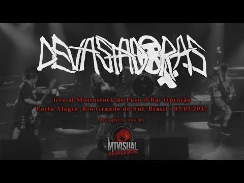 DEVASTADORAS - Live at Morrostock de Peso - Porto Alegre [2017] [FULL SET]