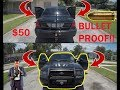 Bullet Proofing a Ford Crown Victoria P71 For $50!!