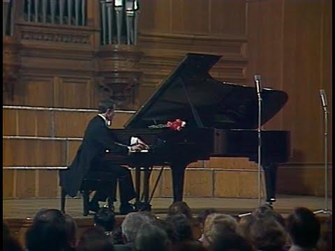 Mikhail Pletnev plays Glinka-Balakirev The Lark - video 1983