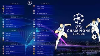 FAVORITOS CHAMPIONS LEAGUE 2018/19 | Fase de grupos