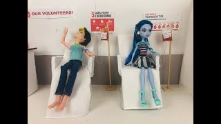 The Blood Drive- A Monster High/Ever After High Stop Motion