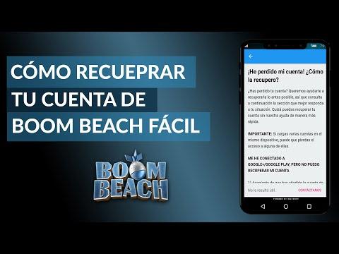 Cómo Recuperar tu Cuenta de Boom Beach Fácilmente