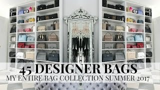 One of Iam CHOUQUETTE's most viewed videos: 45 DESIGNER HANDBAGS MY ENTIRE COLLECTION | PLUS A NEW BAG REVEAL IAM CHOUQUETTE