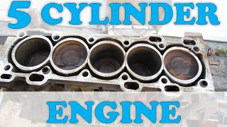 Why Inline 5 Cylinder Engines are an Anomaly