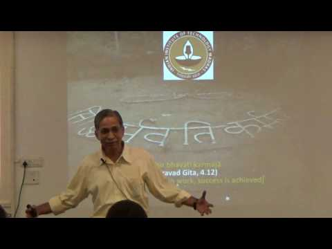 IIT Madras - Integral Karmayoga Course - Session 1 part 1 of 3