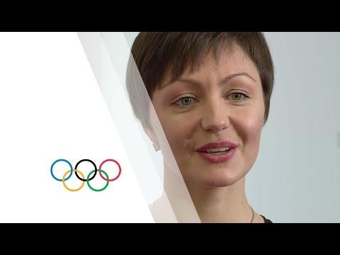 Anastasia Davydova (Russia) - IOC Trophy for Europe   Women and Sport