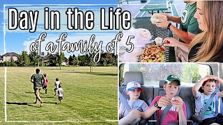 Spend the Day With Us Vlog!! :: A Regular Day In The Life of a family of 5