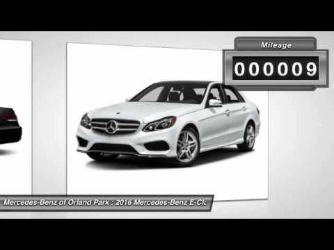 2016 Mercedes-Benz E-Class Orland Park IL MW7441 - YouTube